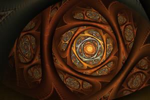 spirally orange by piethein21