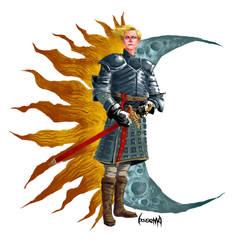 Brienne of Tarth by JamesBousema