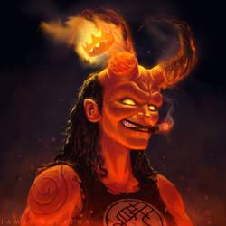 Hellgirl by JamesBousema