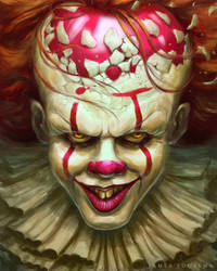 Pennywise by JamesBousema