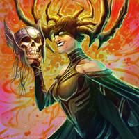 Goddess of Death by JamesBousema