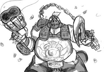 Roadhog by RoyaleMay