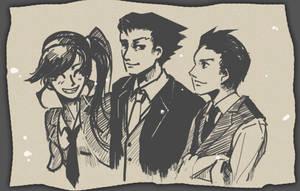 The Three Lawyers by Natalia-L