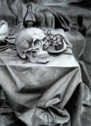 Vanitas Still Life by zizivanityaddict