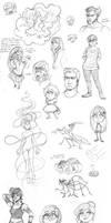 SketchDump27 by Quackamos
