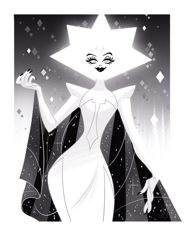 Spoilers! It's White Diamond. I can't wait for mooooorrrreeee omg her shoes though right??