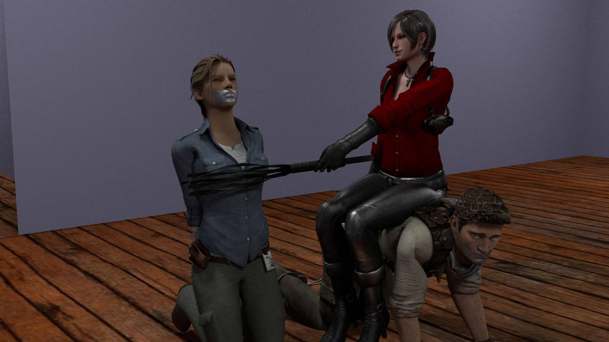 Ada Dominates Drake and Elena by TheBlenderTaper