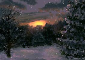 winter speedpaint by Forheksed
