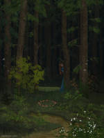 Dark forest by Forheksed