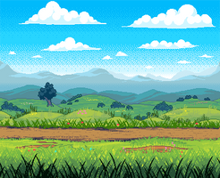 [C] Field at Midday by Forheksed