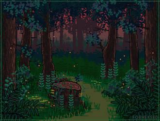 [C] Dark forest by Forheksed