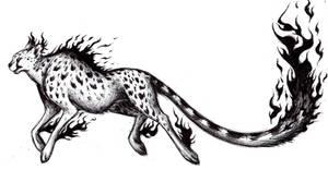 Cheetah Swift Spirit of Fire by azraelkarasu