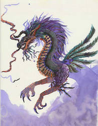 Healing Dragon by azraelkarasu