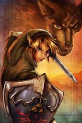 LoZ Twilight Princess - Link by annecain