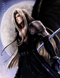 Sephiroth by annecain