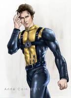 X-men: Xavier - First Class by annecain