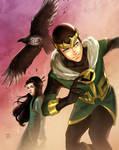 Kid Loki, Leah, and Ikol by annecain