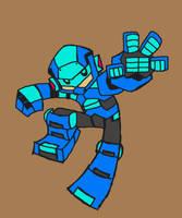 Rockman Precinct 002 by Hologramzx