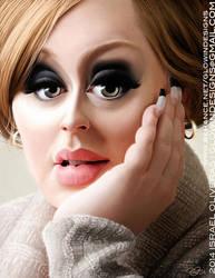 Adele by GlowinFreak