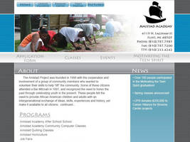 Amistad School homepage by alphamale1980