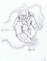 at work sketch by victoroil