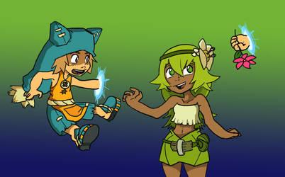 Wakfu - Yugo and Amalia by KimchiCrusader