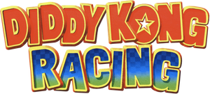 Diddy Kong Racing logo by Snivy101