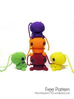 Skittles Amigurumi - Free Pattern by ex-astris1701