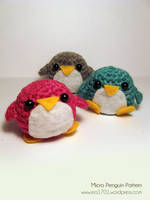 Free Pattern - Micro Penguin by ex-astris1701