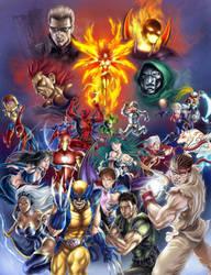 Marvel vs capcom 3 by SpaceWeaver