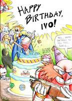 Happy b-day ya stupid hedgehog by Garlar