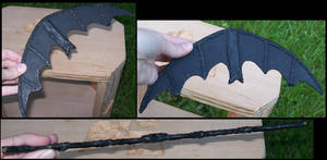 batarang by gryphonsshadow