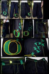 Pants: University of Oregon by gryphonsshadow