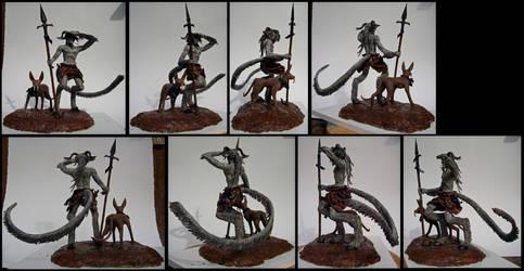 Goatman by gryphonsshadow