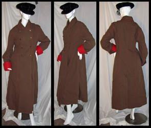 Brown Coat by gryphonsshadow