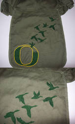 Oregon Embroidery by gryphonsshadow