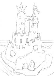 Sandcastle by GlyphBellchime