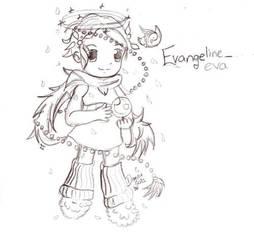 Gaia art for Evangeline_eva by DimiraGurl