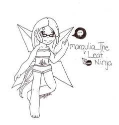 Gaia art for marqulia_The Leaf by DimiraGurl