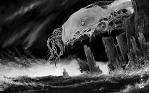 cthulhu by fiend-upon-my-back