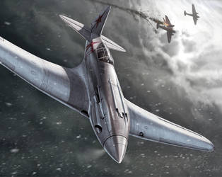 Battle of Stalingrad by hylajaponica