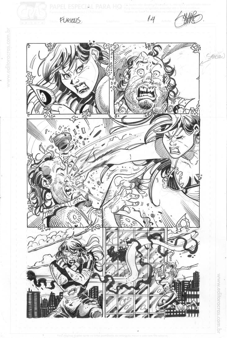 Furious14inks by samirsimao