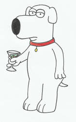 UP CLOSE: Brian Griffin by romcomqueen