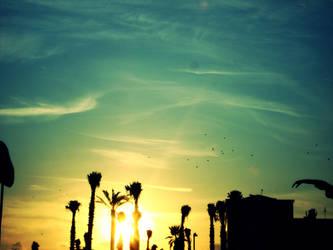 let the sun fall. by Ritiinhaa