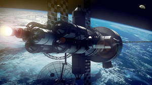 Spacecraft by bananainpyjamas