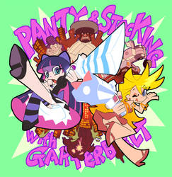 Panty and Stocking by KOUSES