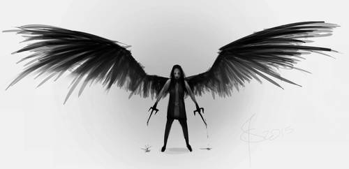 Angel of Death by SunflowerDaemon