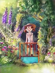 Garden Gates by Vasylissa