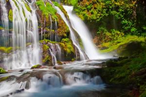 Weeping Falls by DarkroomMaster