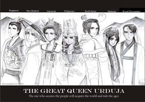 The Great Queen Urduja by dinosaurusgede